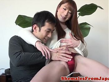 Versatile nippon trans butt fucked after bj