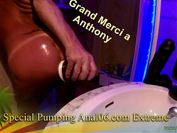 Pumping Extreme Anal avec Poppers